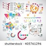 vector of infographic | Shutterstock .eps vector #405761296