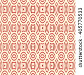 seamless pattern with symmetric ... | Shutterstock .eps vector #405770533