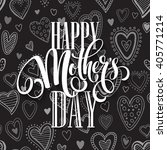 mothers day vector greeting... | Shutterstock .eps vector #405771214