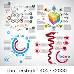 vector of infographic | Shutterstock .eps vector #405772000