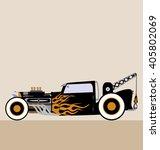 crane hot rod | Shutterstock .eps vector #405802069
