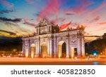 madrid city   shots of spain  ... | Shutterstock . vector #405822850