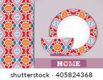 seamless geometric pattern and... | Shutterstock .eps vector #405824368