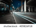 city road viaduct streetscape... | Shutterstock . vector #405826918