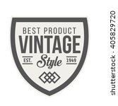 badge retro premium design... | Shutterstock .eps vector #405829720