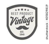badge retro premium design...   Shutterstock .eps vector #405829819