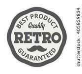 badge retro premium design... | Shutterstock .eps vector #405829834
