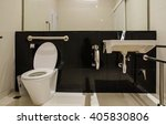 the bathroom disabled in the... | Shutterstock . vector #405830806