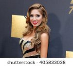 Small photo of Farrah Abraham at the 2016 MTV Movie Awards held at the Warner Bros. Studios in Burbank, USA on April 9, 2016.