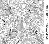 tracery seamless calming...   Shutterstock .eps vector #405834409