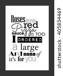 Food Quote. Pizza Quote. Roses...