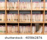 Files Of Patient Records At A...