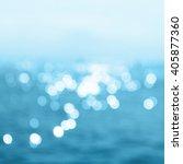 sea in summer sun light | Shutterstock . vector #405877360