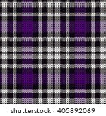 knitted plaid tartan pattern | Shutterstock .eps vector #405892069