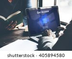 Small photo of Get Access Availability Obtainable Online Internet Technology Concept