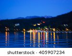 Blurred Photo Annecy Lake In...