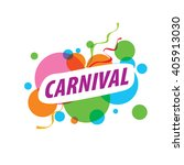 abstract logo template carnival ... | Shutterstock .eps vector #405913030