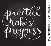 handdrawn lettering of a phrase ... | Shutterstock .eps vector #405930064
