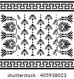 vector set traditional vintage... | Shutterstock .eps vector #405938023