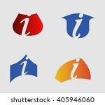 vector illustration of abstract ... | Shutterstock .eps vector #405946060