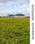 biogas plant   germany | Shutterstock . vector #405953143