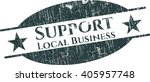 support local business grunge... | Shutterstock .eps vector #405957748