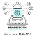 vector illustration of creative ... | Shutterstock .eps vector #405969796