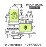 vector illustration of creative ... | Shutterstock .eps vector #405970003