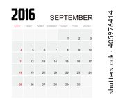 Template Of Calendar For...