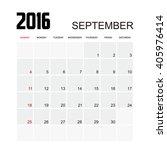 template of calendar for... | Shutterstock .eps vector #405976414
