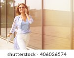 business and freelance concepts.... | Shutterstock . vector #406026574