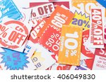 discount coupon | Shutterstock . vector #406049830