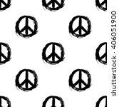 peace symbol. peace hippie... | Shutterstock .eps vector #406051900