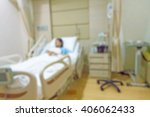 Blurred Image Of Patient With...