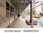 new york  usa   circa march ... | Shutterstock . vector #406065454