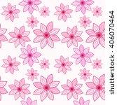seamless floral pattern....   Shutterstock .eps vector #406070464
