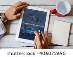 bangkok thailand   april 11... | Shutterstock . vector #406072690