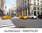 new york  usa   circa march ... | Shutterstock . vector #406074130