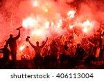 serbia  belgrade   february 27  ... | Shutterstock . vector #406113004