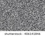 white noise  abstract black and ... | Shutterstock .eps vector #406141846