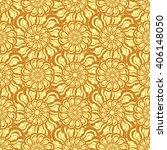 seamless creative hand drawn... | Shutterstock .eps vector #406148050