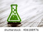 green chemistry industry sign... | Shutterstock . vector #406188976