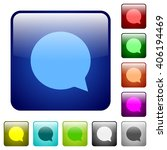 set of color chat glass web...
