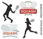Squash Logos  Emblems ...