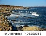 Rugged Coastline And Crashing...