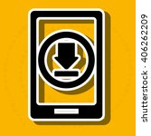 download arrow design  | Shutterstock .eps vector #406262209