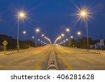 Light And Bridge Architecture.