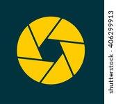 camera icon | Shutterstock .eps vector #406299913