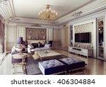 3d rendering and design  ... | Shutterstock . vector #406304884