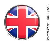 3d rendering of uk button on... | Shutterstock . vector #406328548